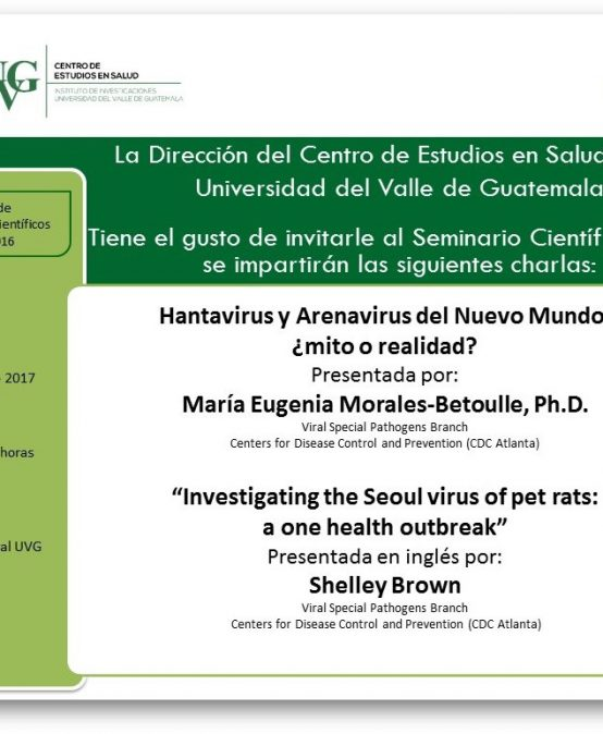 Seminario Científico Hantavirus y Arenavirus-Investigating the Seoul virus