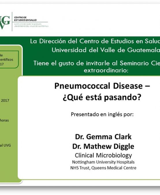 Seminario Científico Pneumococcal Disease